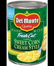 Del Monte® Fresh Cut® Golden Sweet Cream Style Corn 14.75 oz....