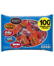 Hershey's Snack Size Assorted Candy 36.9 oz. Bag