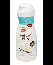 COFFEE-MATE Natural Bliss Vanilla Flavor Liquid Coffee Creame...
