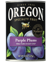 Oregon Fruit Products® Whole Purple Plums in Heavy Syrup 15 o...