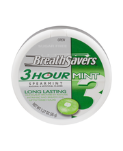 Breath Savers® Spearmint 3-Hour Sugar Free Mints 1.27 oz. Pack