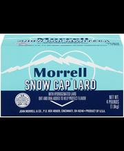 Morrell Snow Cap® Lard 4 lb. Box