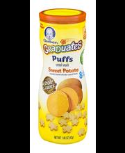 Gerber® Graduates® Puffs Sweet Potato Cereal Snack 1.48 oz. C...