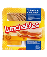 Lunchables Turkey & Cheddar with Crackers Lunch Combination 3...