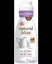 Nestle Coffeemate Natural Bliss Sweet Cream Flavor Liquid Cof...