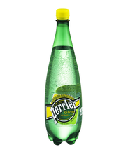 PERRIER Sparkling Natural Mineral Water, Lime 33.8-ounce plas...