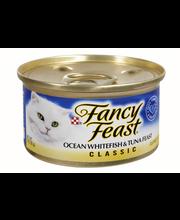Purina Fancy Feast Classic Pate Ocean Whitefish & Tuna Feast Wet Cat Food - 3 oz. Can