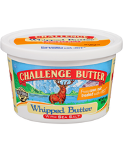 Challenge® Whipped Butter with Sea Salt 8 oz. Plastic Tub