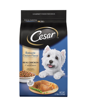 Cesar® Rotisserie Chicken Flavor and Spring Vegetables Garnis...