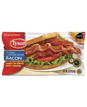 Tyson® Natural Hickory Smoked Bacon 2.2 oz. Pack