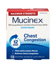 Mucinex® Maximum Strength Extended-Release Bi-Layer Tablets E...