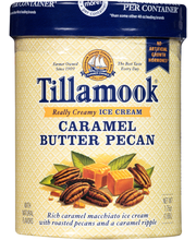 Tillamook® Caramel Butter Pecan Ice Cream 1.75 qt. Tub