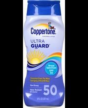 Coppertone® Ultra Guard™ Broad Spectrum SPF 50 Sunscreen Loti...