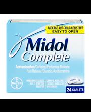 Midol™ Complete Multi-Symptom Relief Caplets 24 ct Box