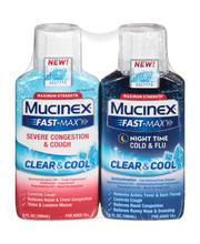 Mucinex® Fast-Max® Clear & Cool™ Maximum Strength Severe Cong...