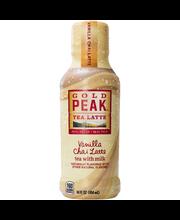 Gold Peak Vanilla Chai Latte 14 oz. Bottle