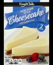 FOOD CLUB CHEESECAKE NEW YORK