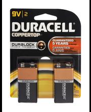 Duracell 9V Batteries - 2 CT