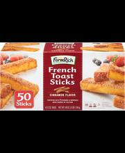 Farm Rich™ Cinnamon Flavor French Toast Sticks 50 ct Box