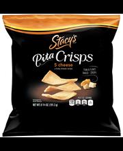 Stacy's 5 Cheese Pita Crisps  6.75 Ounce Bag