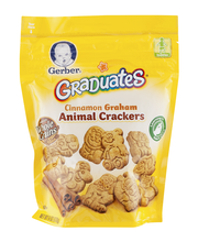 Gerber® Graduates® Cinnamon Graham Animal Crackers 6 oz. Bag
