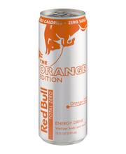 Red Bull The Orange Edition Energy Drink Orange