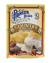 Pioneer® Brand Country Sausage Flavor Gravy Mix 2.75 oz. Packet