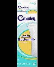 Crowley® Cultured Lowfat Buttermilk 1 qt. Carton