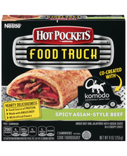 HOT POCKETS Food Truck Spicy Asian-Style Beef 2-Pack