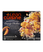 LEAN CUISINE MARKETPLACE Orange Chicken 9 oz Box