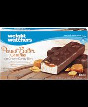 Weight Watchers Peanut Butter Caramel Ice Cream Candy Bars 6-...