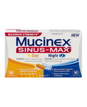 Mucinex® Sinus-Max™ Maximum Strength Day/Night Multi-Symptom ...
