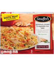 STOUFFER'S Large Family Size Grandma's Chicken & Vegetable Ri...