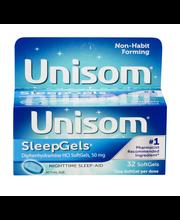 Unisom SleepGels Non-Habit Forming Nighttime Sleep-Aid SoftGe...