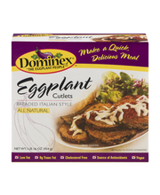 Dominex Eggplant Cutlets Breaded Italian Style
