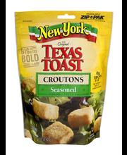 New York Bakery® Texas Toast Seasoned Croutons 5 oz. Bag