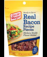 Oscar Mayer Real Bacon Recipe Pieces 2.8 oz. Pouch