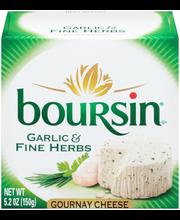 Boursin® Garlic & Fine Herbs Gournay Cheese 5.2 Box