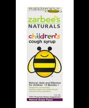 Zarbee's Naturals Children's Cough Syrup with Dark Honey Grap...