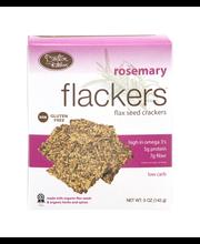 Flackers Flax Seed Crackers Rosemary