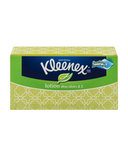 Kleenex® Brand Lotion Aloe & E Tissue 120 ct Box