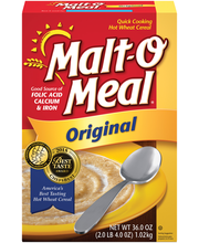 Malt-O-Meal® Original Quick Cooking Hot Wheat Cereal 36.0 oz....