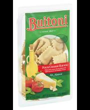 BUITONI Refrigerated Four Cheese Ravioli Pasta no GMO Ingredi...