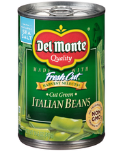 Del Monte® Harvest Selects® Cut Green Italian Beans 14.5 oz. Can