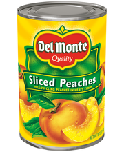 Del Monte® Sliced Yellow Cling Peaches in Heavy Syrup 15.25 oz. Can