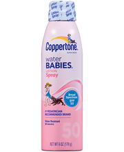 Coppertone® Sunscreen Water Babies® Broad Spectrum Lotion Spr...