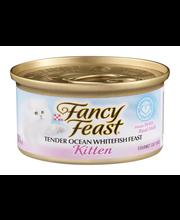 Purina Fancy Feast Kitten Tender Ocean Whitefish Feast Cat Fo...