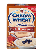Cream of Wheat® Maple Brown Sugar Instant Hot Cereal 10-1.23 ...