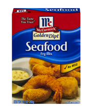 McCormick® Golden Dipt® Seafood Frying Mix, 10 oz. Box