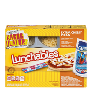 Lunchables Extra Cheesy Pizza Lunch Combination 4.6 oz. Tray ...